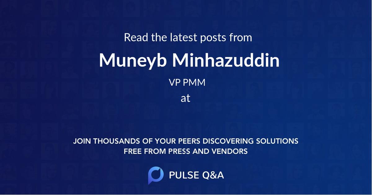 Muneyb Minhazuddin