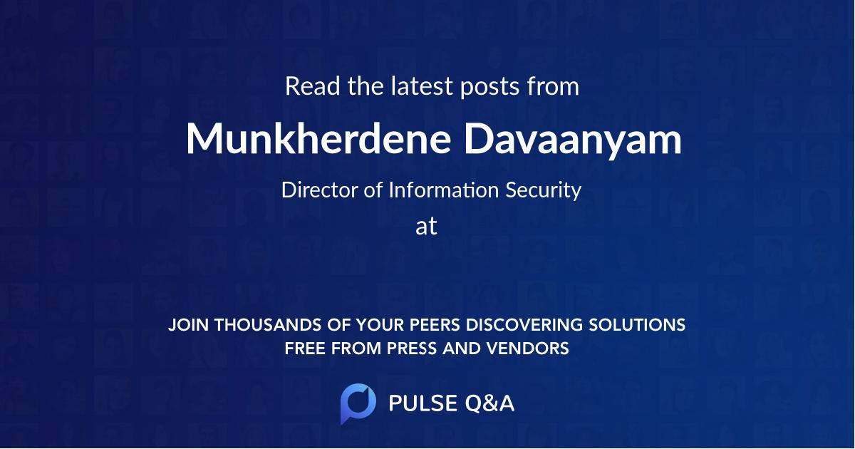Munkherdene Davaanyam