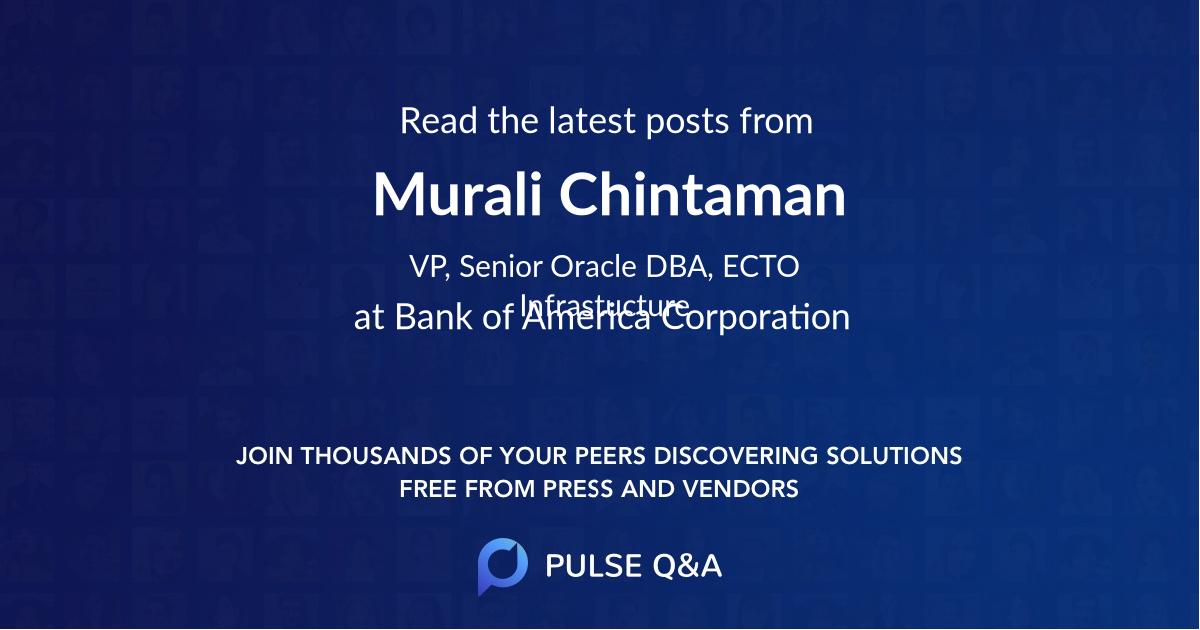 Murali Chintaman