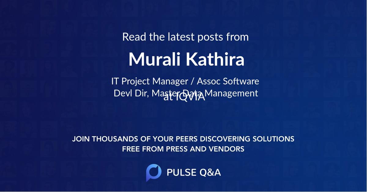 Murali Kathira
