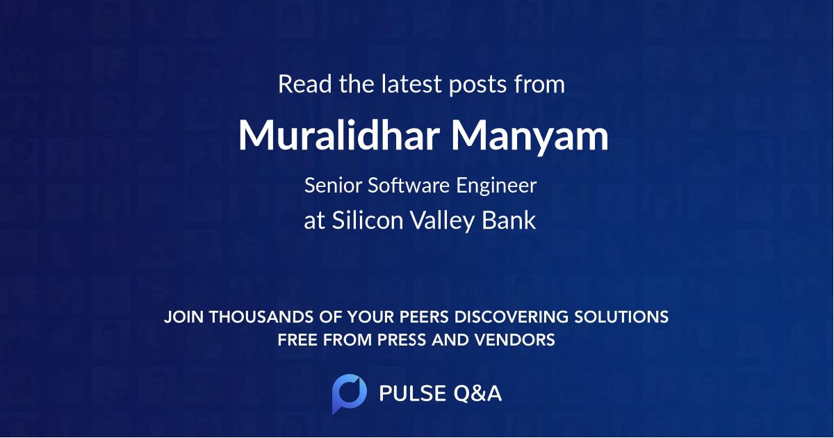 Muralidhar Manyam