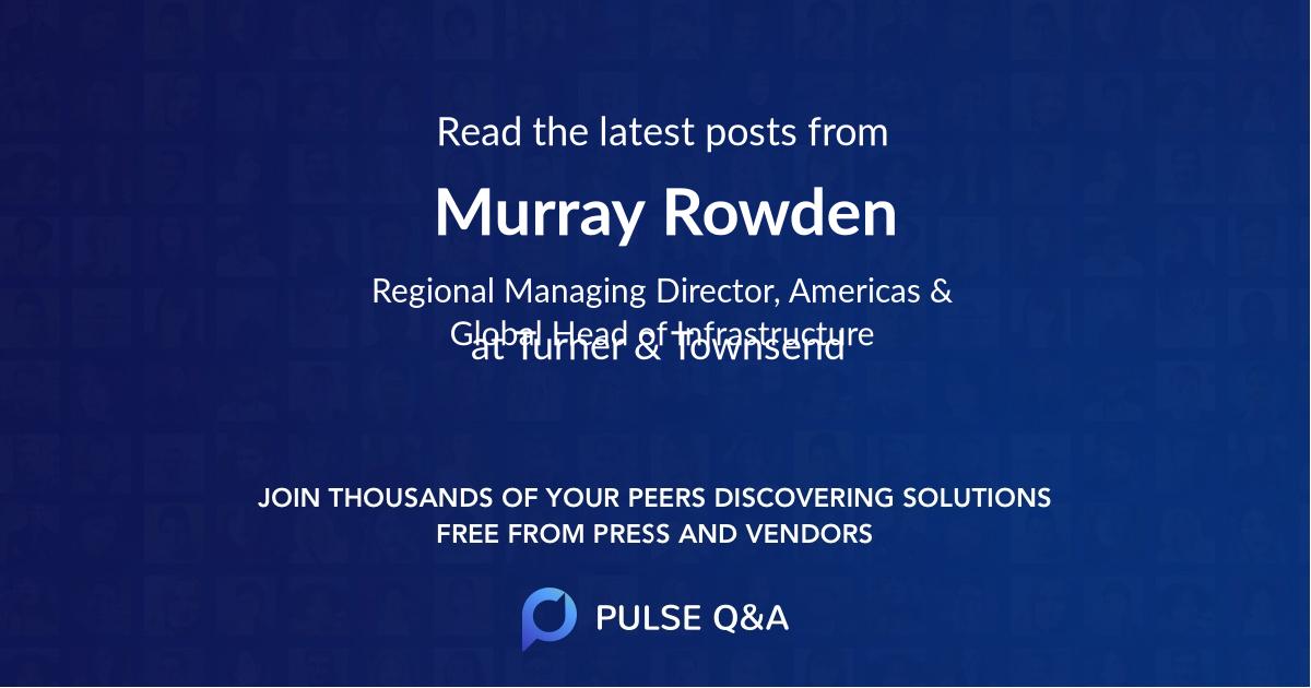 Murray Rowden