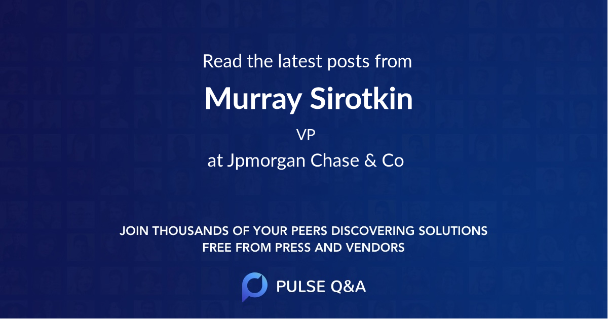 Murray Sirotkin