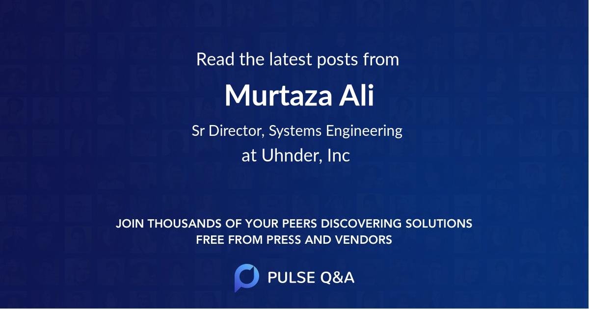 Murtaza Ali
