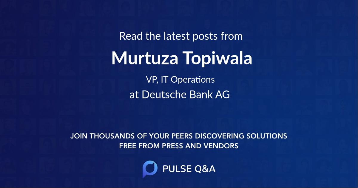 Murtuza Topiwala