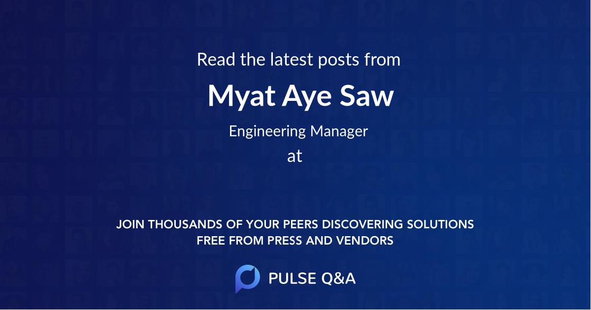 Myat Aye Saw