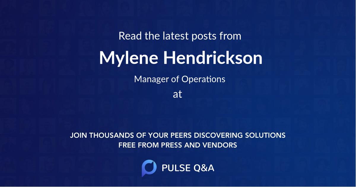 Mylene Hendrickson
