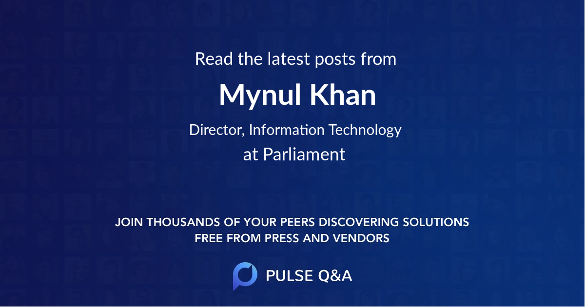 Mynul Khan