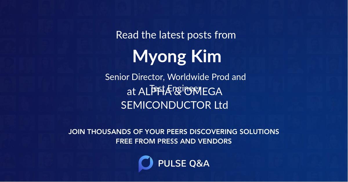 Myong Kim