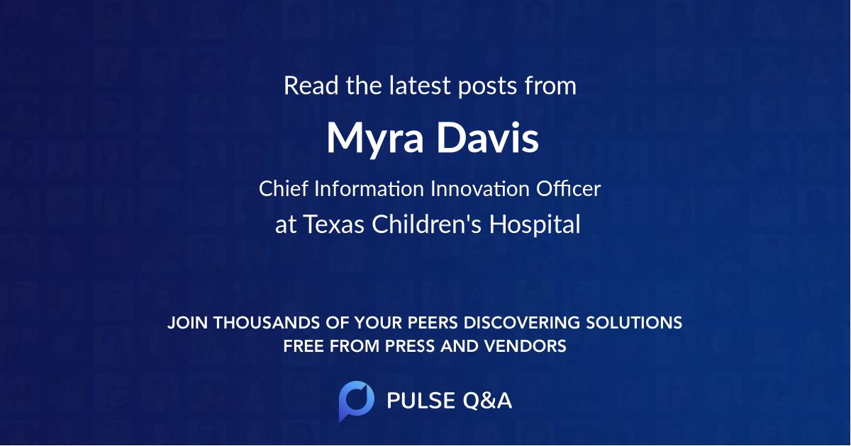 Myra Davis