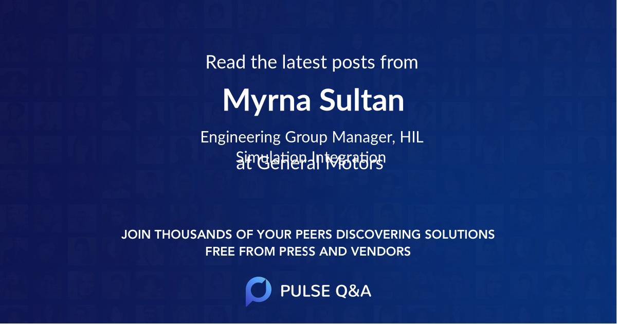 Myrna Sultan