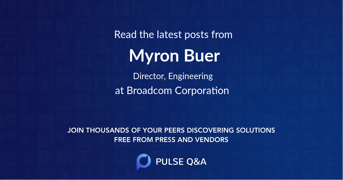 Myron Buer