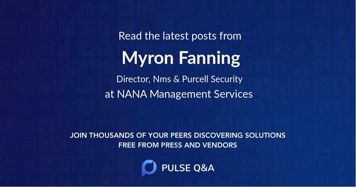 Myron Fanning