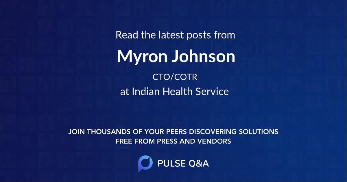 Myron Johnson