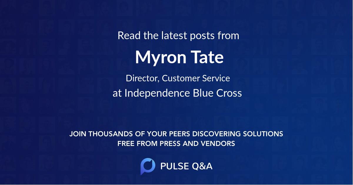 Myron Tate