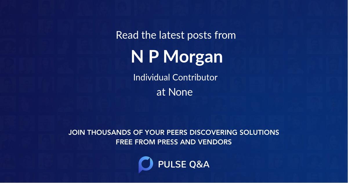 N P Morgan