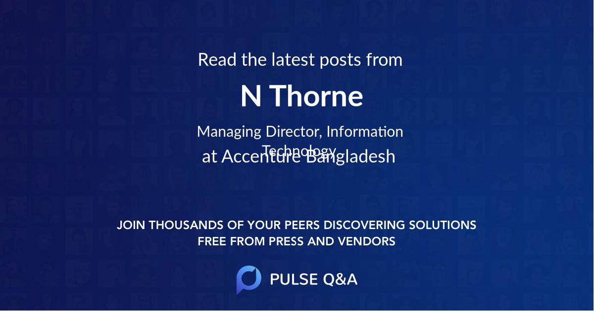 N. Thorne