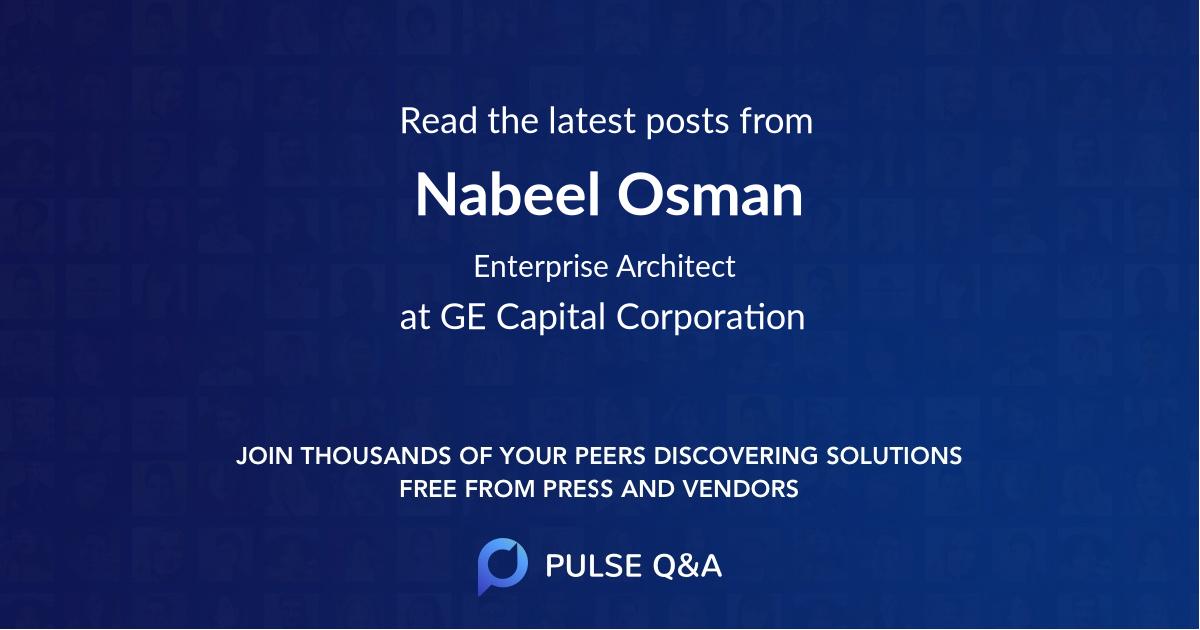 Nabeel Osman