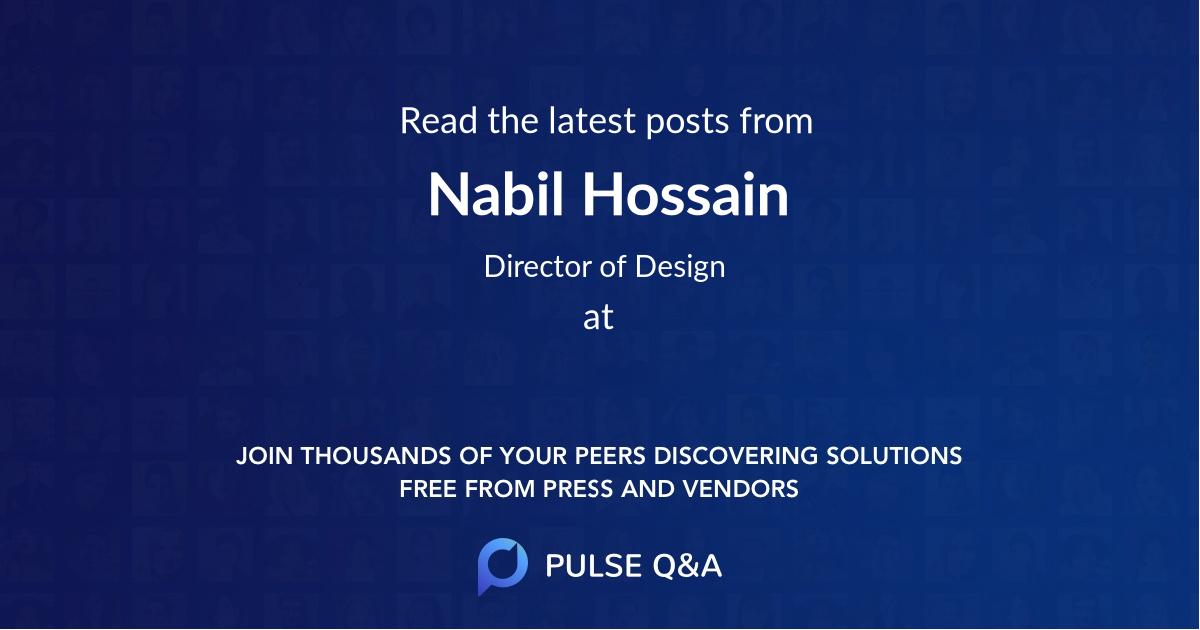 Nabil Hossain