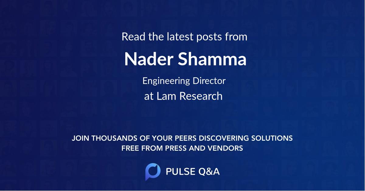 Nader Shamma