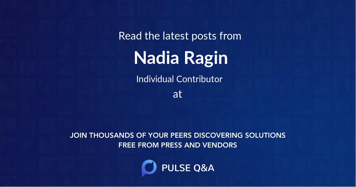 Nadia Ragin