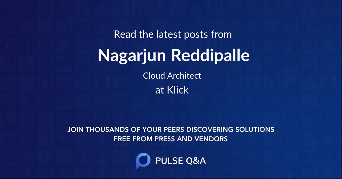Nagarjun Reddipalle