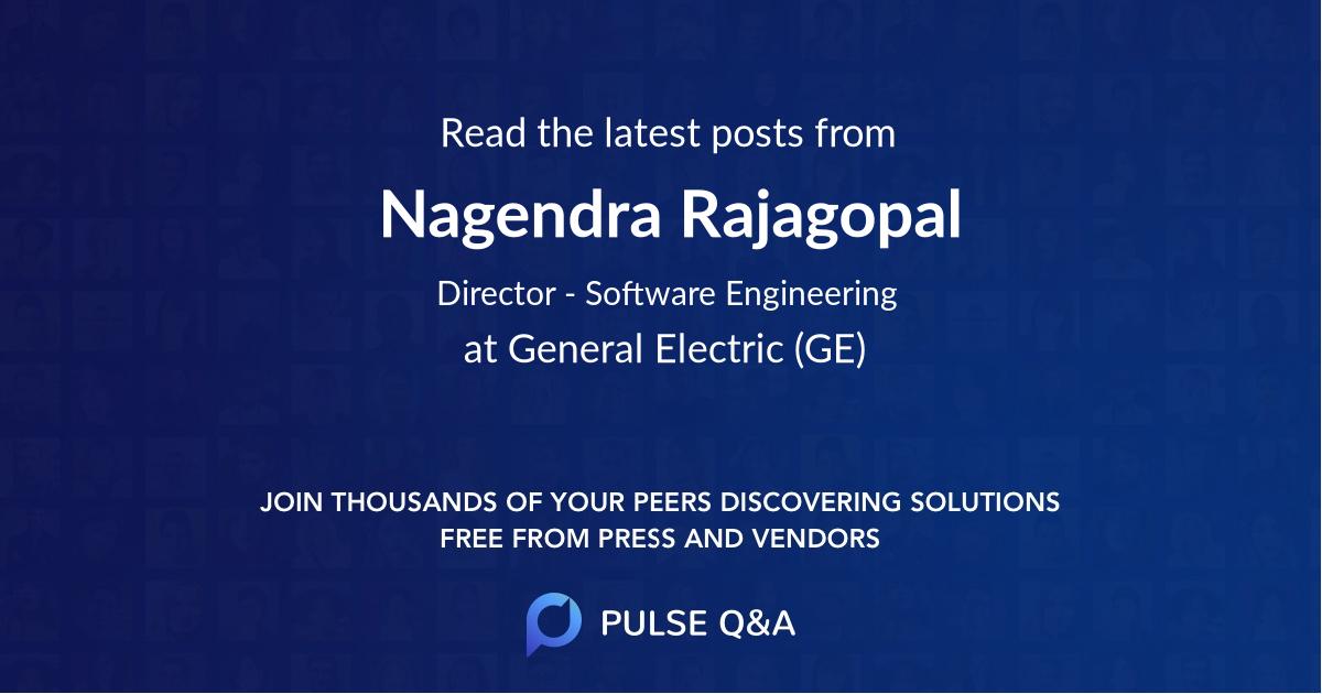 Nagendra Rajagopal