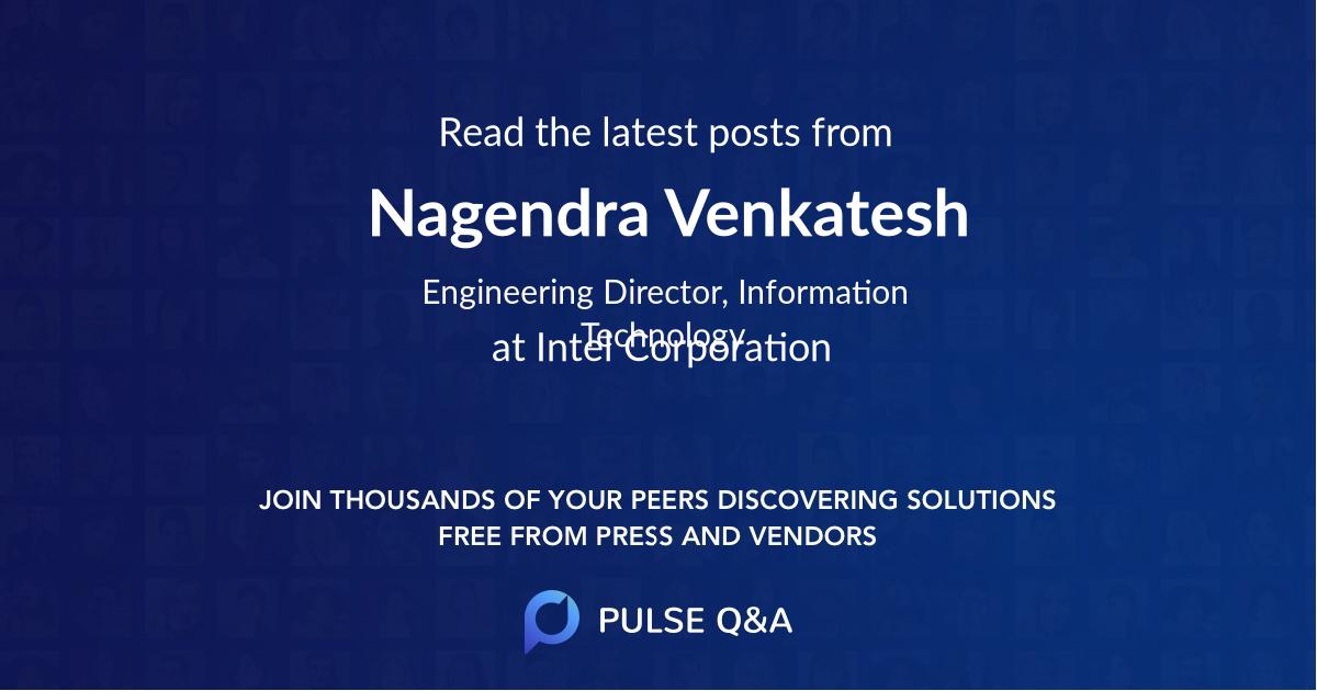 Nagendra Venkatesh