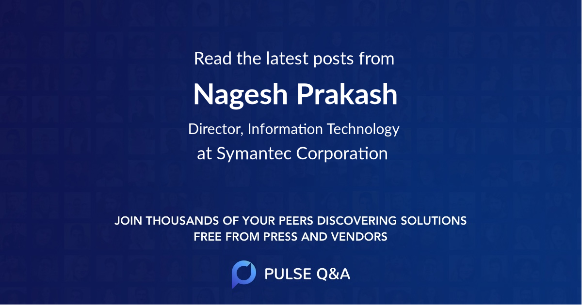 Nagesh Prakash