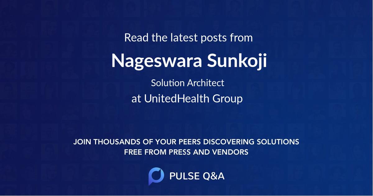 Nageswara Sunkoji