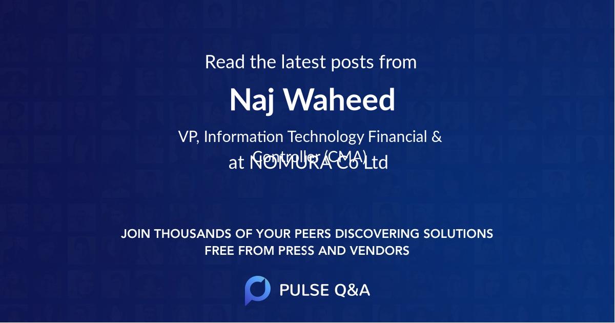 Naj Waheed