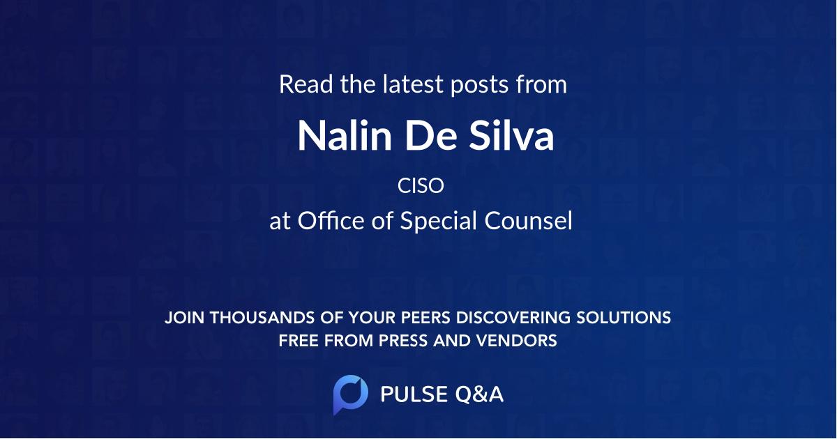 Nalin De Silva