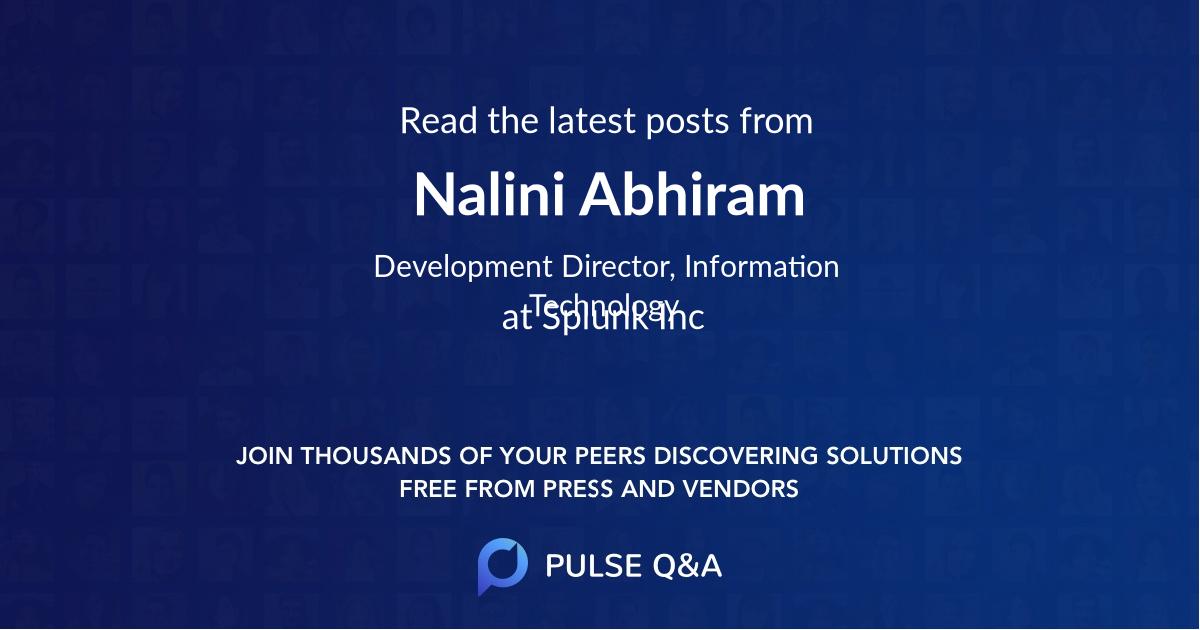 Nalini Abhiram