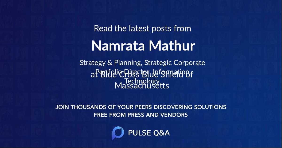 Namrata Mathur