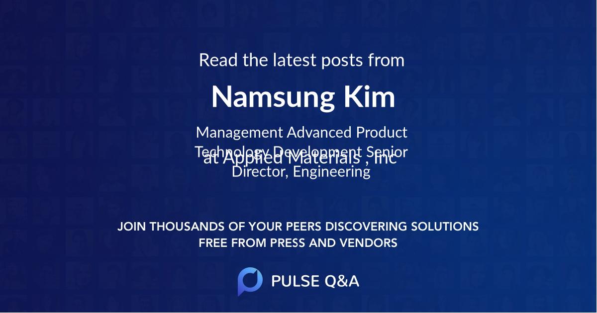 Namsung Kim