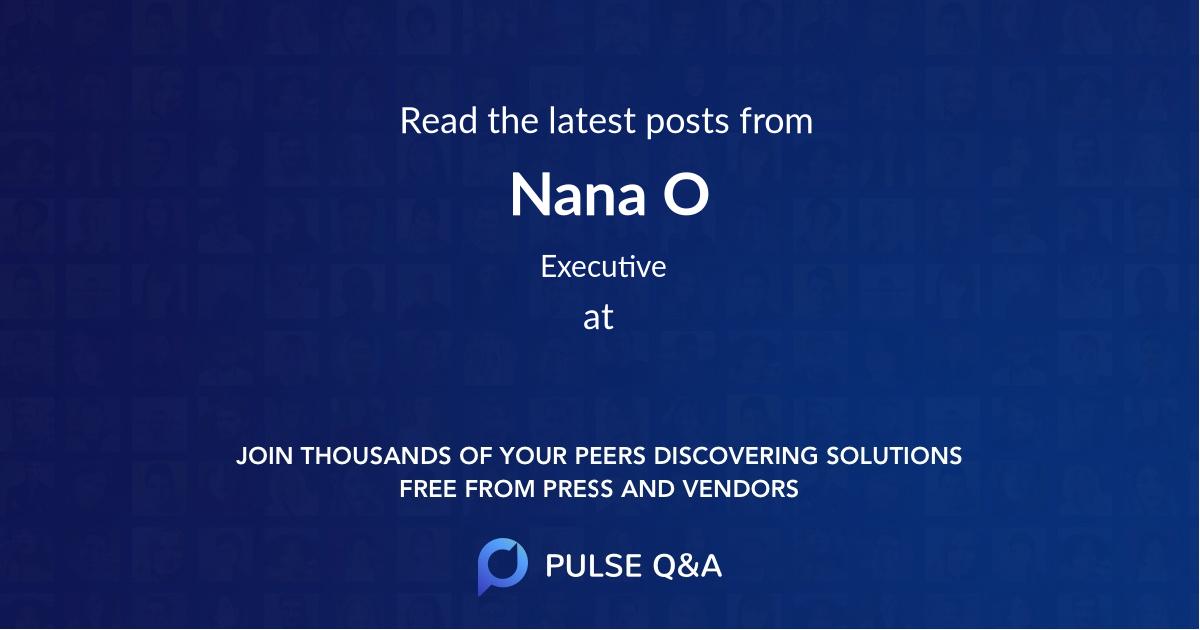 Nana O