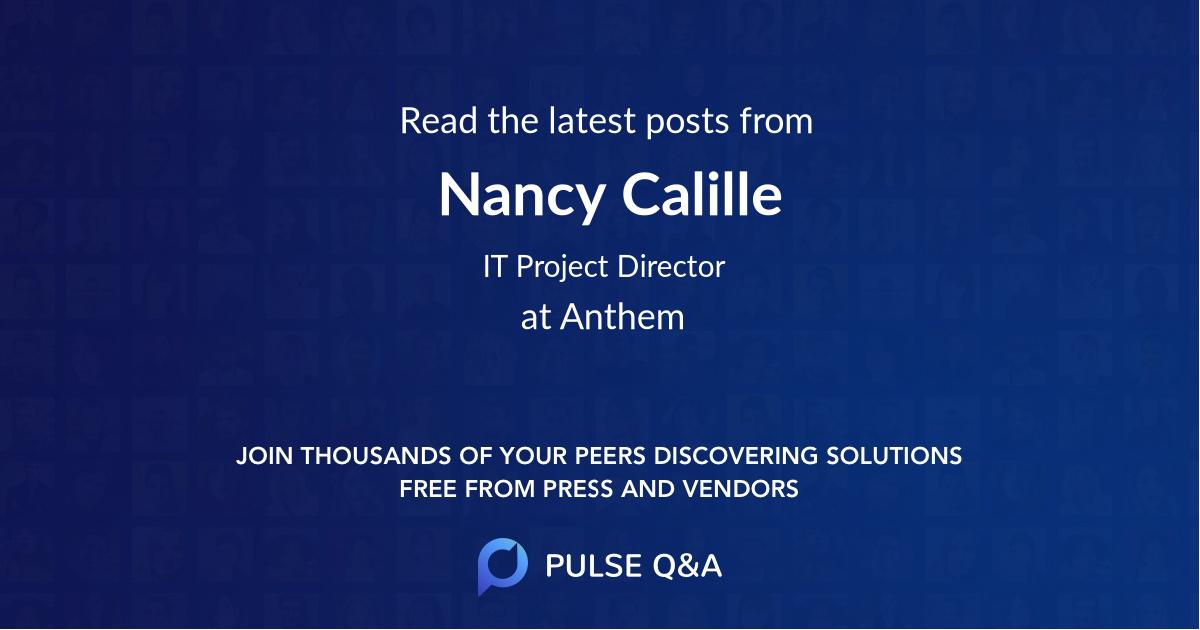 Nancy Calille