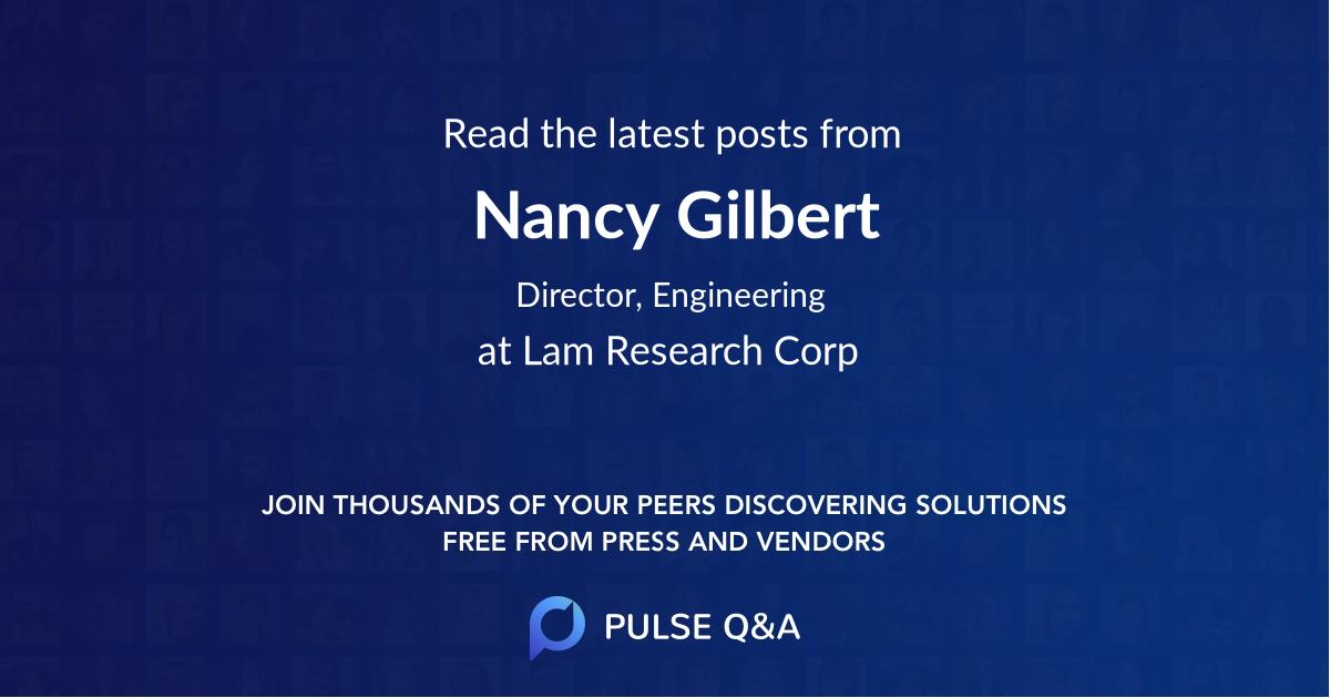 Nancy Gilbert