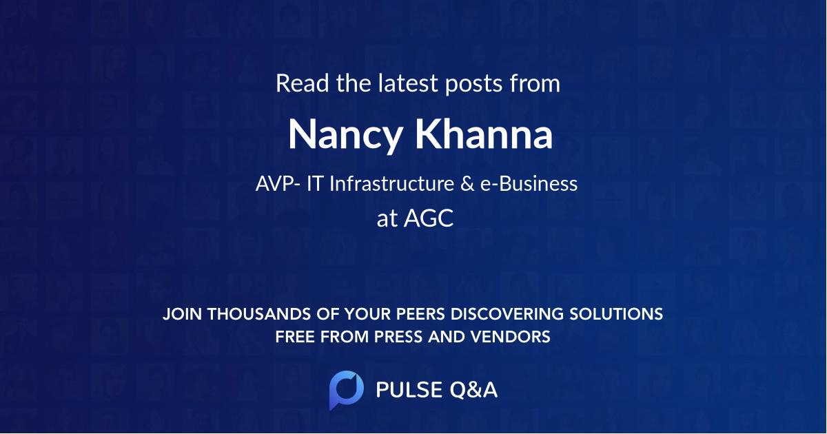 Nancy Khanna