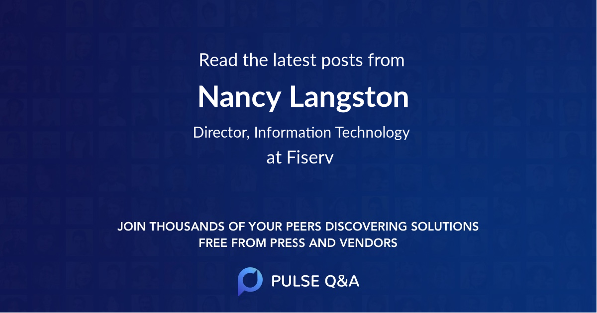 Nancy Langston
