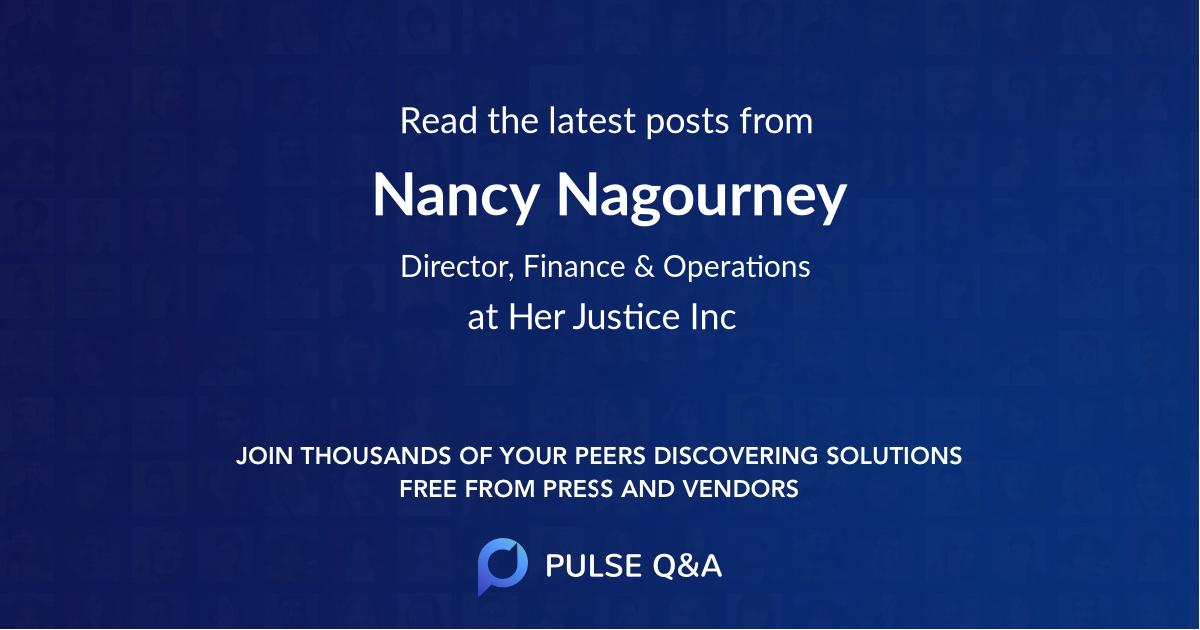 Nancy Nagourney