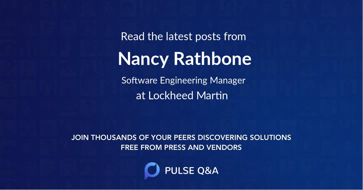 Nancy Rathbone