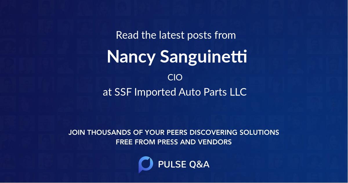 Nancy Sanguinetti