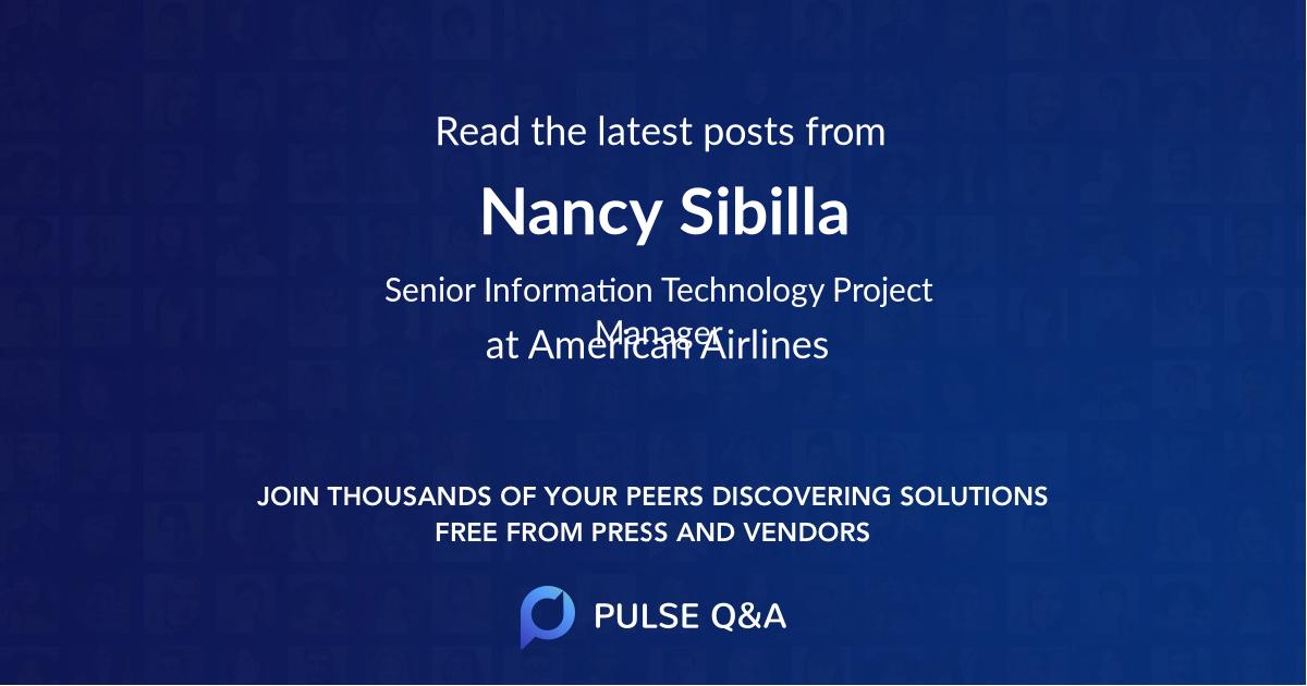 Nancy Sibilla