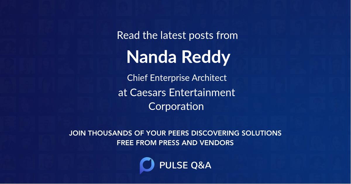 Nanda Reddy