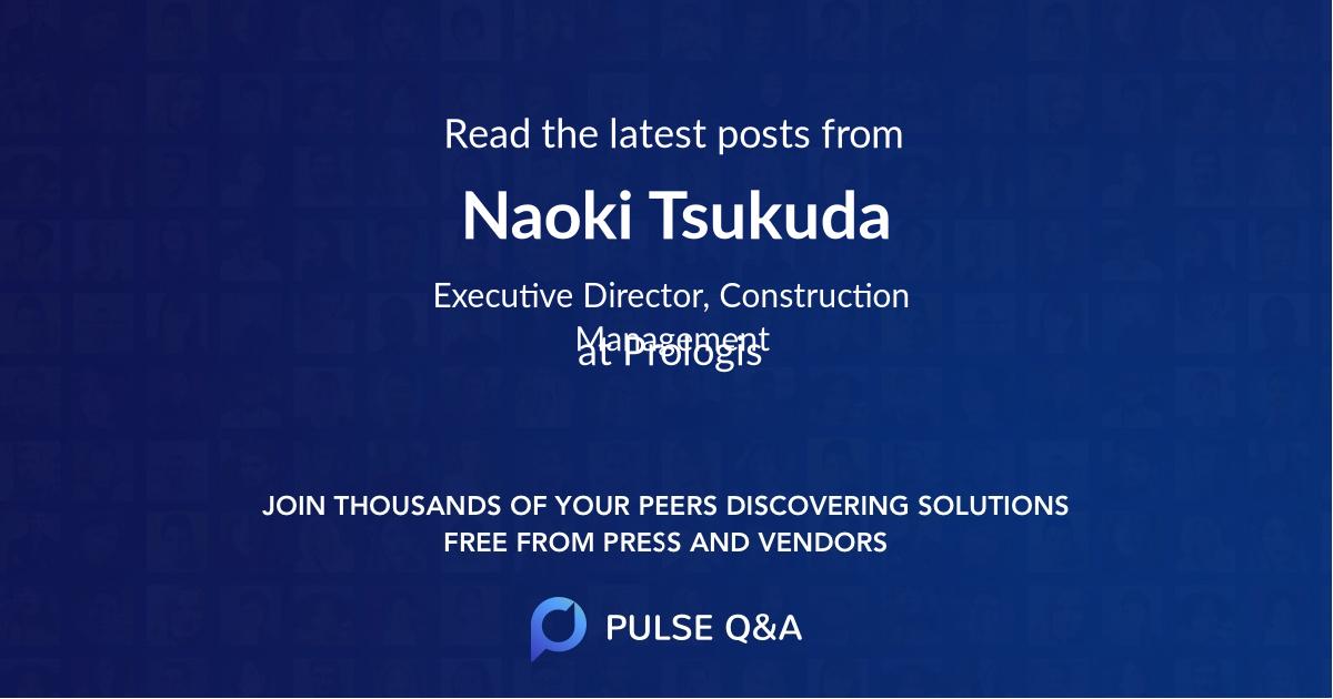 Naoki Tsukuda