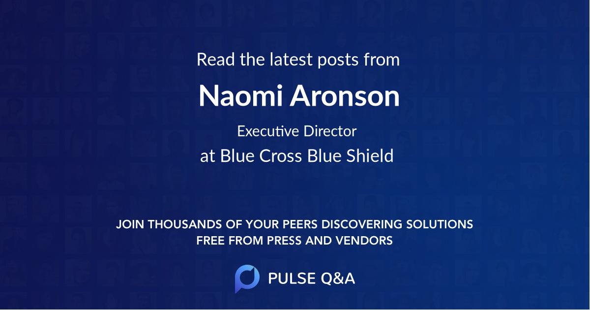 Naomi Aronson