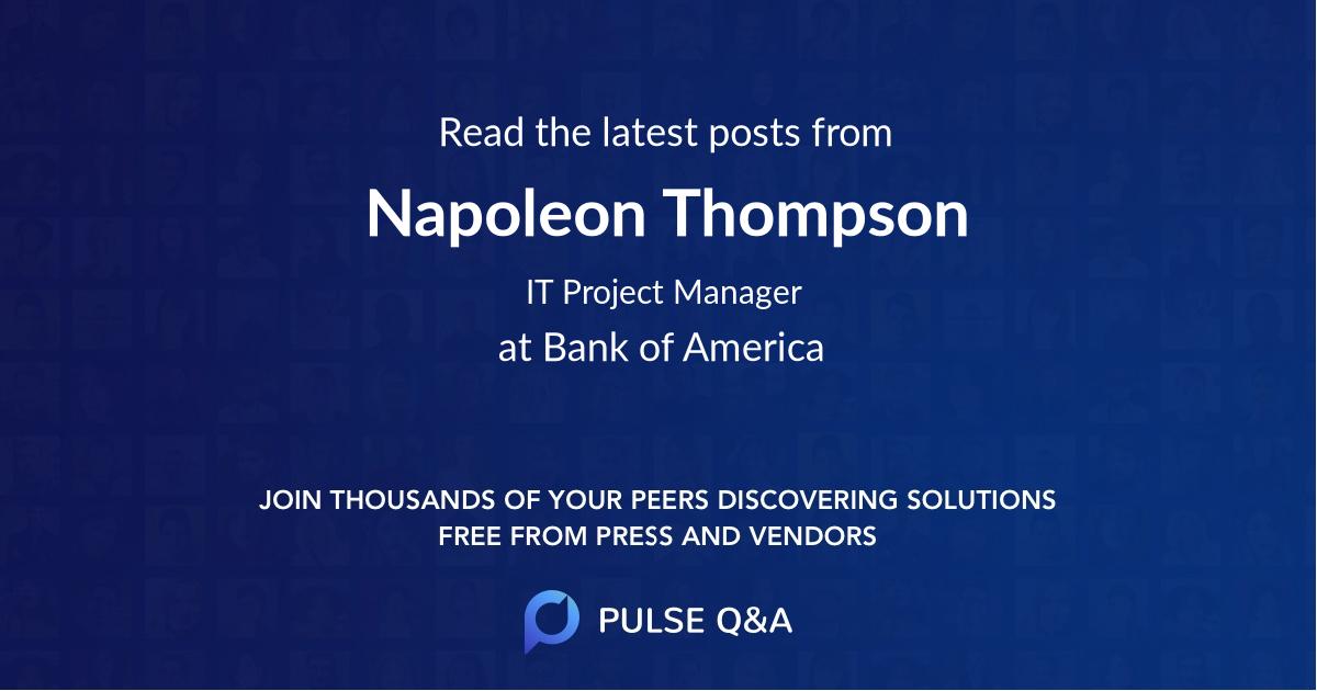 Napoleon Thompson