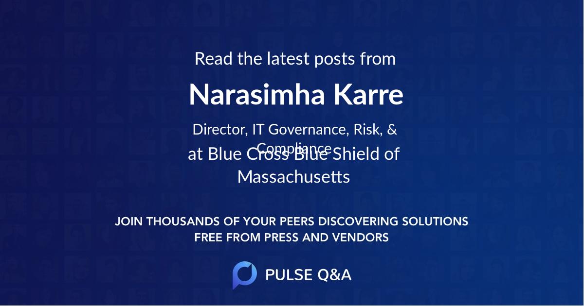 Narasimha Karre