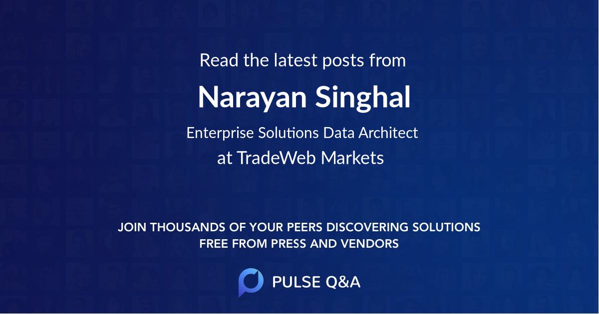 Narayan Singhal